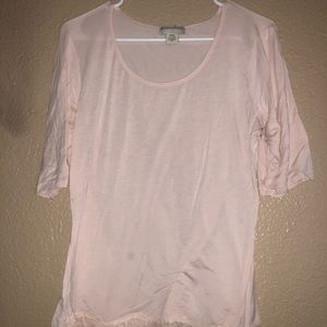 Stretch light pink blouse